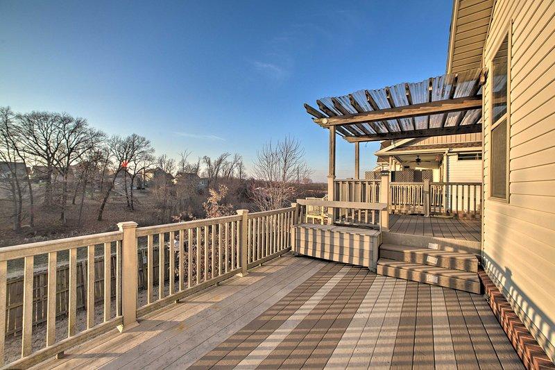 Questa casa si trova a Bentonville, nell'Arkansas.