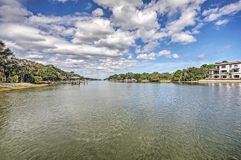 Estarás ubicado directamente en el río Matanzas.