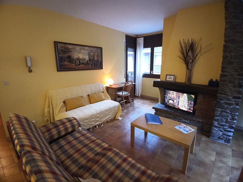 Apartment in Mas de Ribafeta, holiday rental in Engolasters