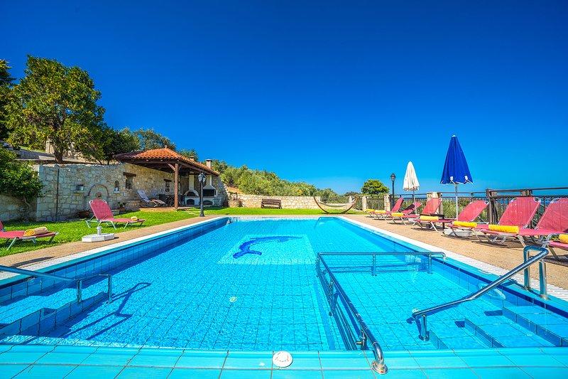 Iris Seaview Villa, Polemarchi Chania, aluguéis de temporada em Polemarchi