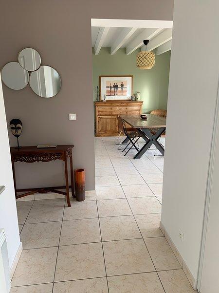 Maison proche Plages Hossegor et golf Seignosse, holiday rental in Saubion