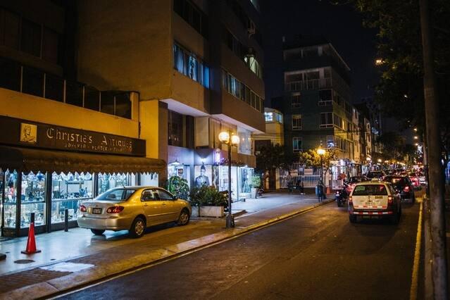 Miraflores's streets