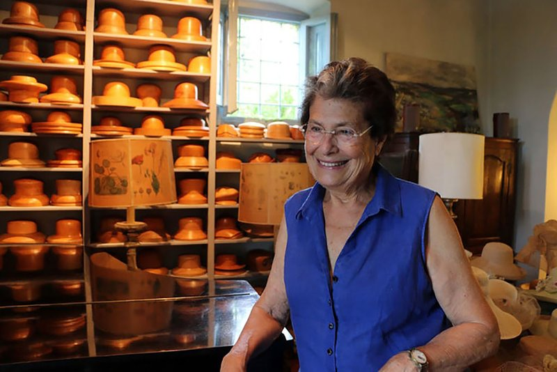 Your hostess, Candida Bing. Italian chef and artist.