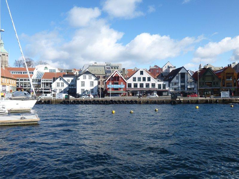 Centro de la ciudad de Stavanger