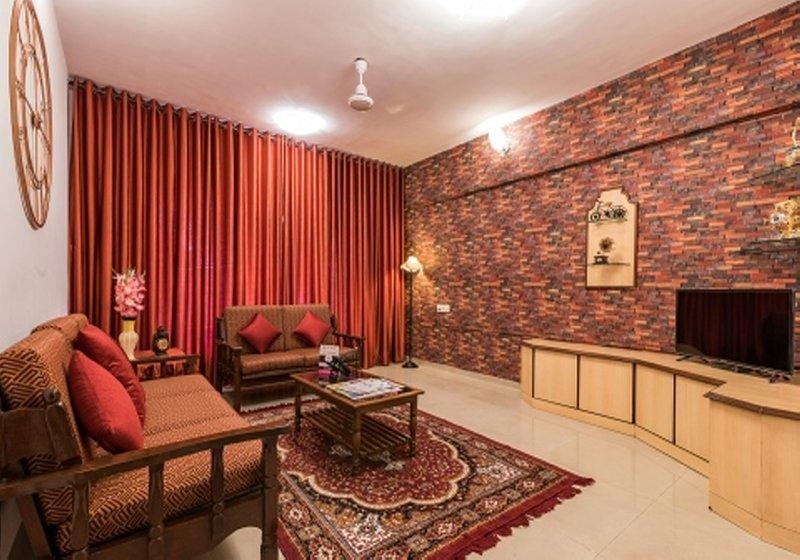 Área de estar del sofá