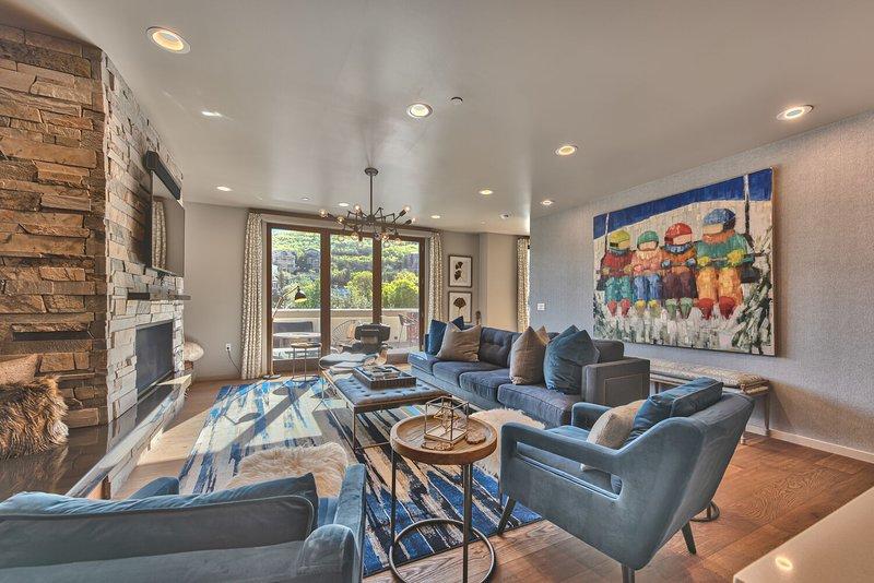 Splendido condominio a due livelli - Sala superiore di livello superiore