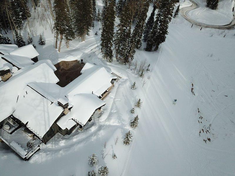 7.286 pés quadrados Ski-in / Ski-Out Casa de luxo na colônia exclusiva - 5 quartos (4 são mestres!), 7 banheiros - acomoda 12