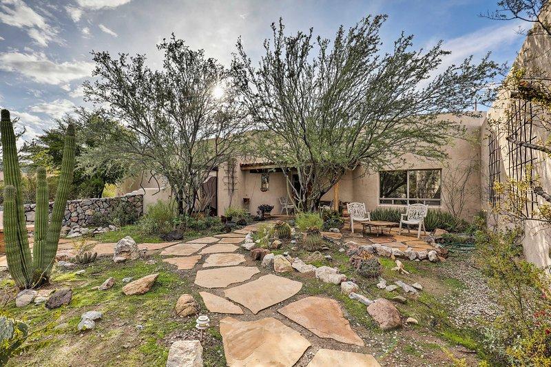 Profitez au maximum de votre prochain voyage à Tucson avec un séjour dans cette maison de rêve du désert!