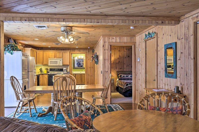 Sleeping  up to 6, this vacation rental has plenty of space for everyone.