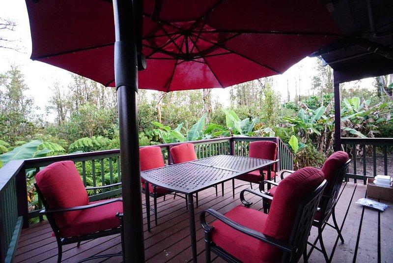 Cozy Beautiful Hidden Papaya Cottage big island, vacation rental in Mountain View