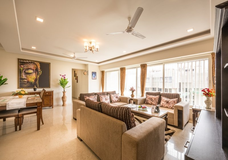 Business Suite 3 BHK near Goregaon Exhibition – semesterbostad i Mumbai (Bombay)