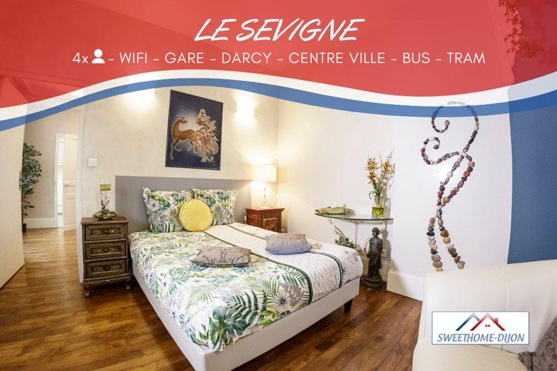 ♔SWEETHOME DIJON - LE SEVIGNE♔ ***, vacation rental in Fontaine-les-Dijon