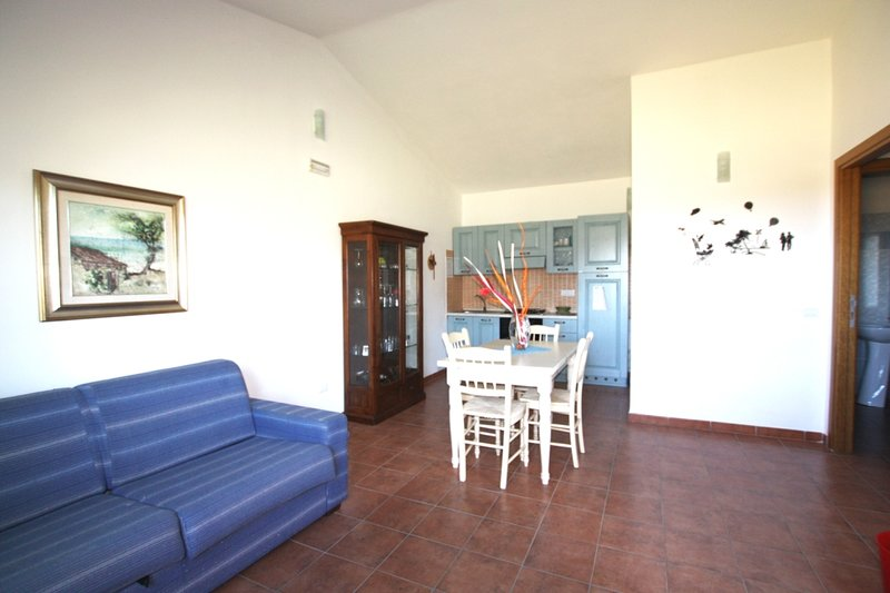 Beautiful apartment with sea view, holiday rental in La Ciaccia