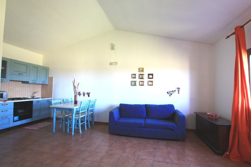 Beautiful apartment with sea view, holiday rental in La Muddizza