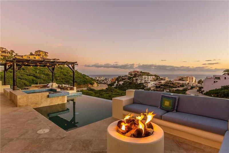 Ocean View Villa on Stunning Hillside, Casa Soñara, 4 BR, holiday rental in Cabo San Lucas