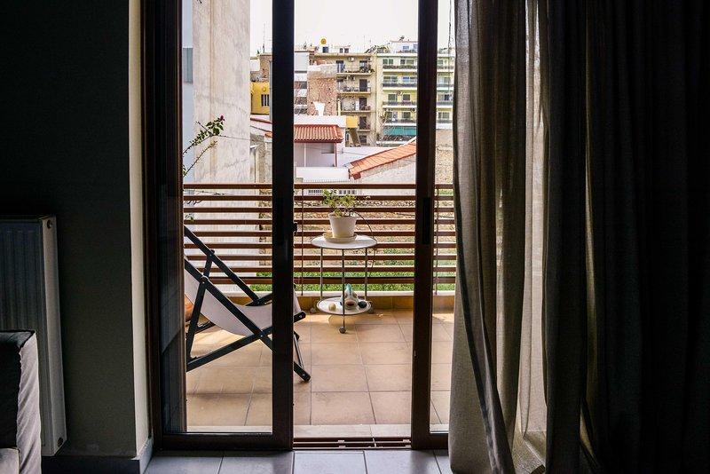 Wohnkultur, Tür, Boden, Boden, Vorhang