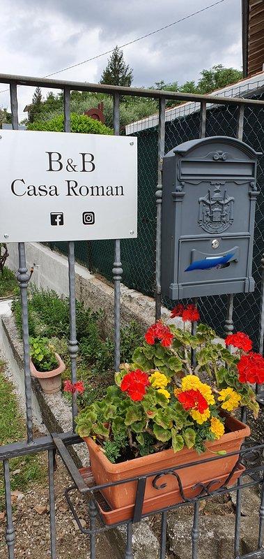 Entrada de B&B Casa Roman