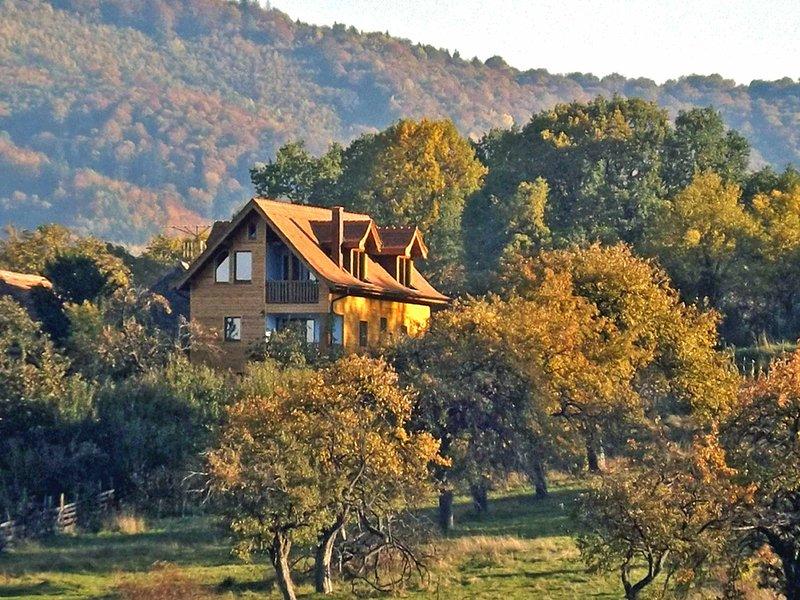 Casa Zollo • holiday home at the Carpathian Mountains near Sibiu, Transylvania, Romania