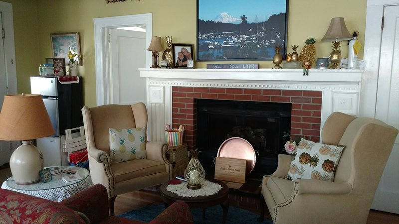 Baker Street Bed and Breakfast at Delfryn Place, vacation rental in Eufaula