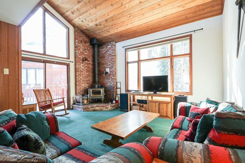 Soggiorno, camera, interni, mobili, divano