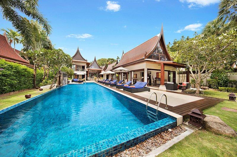 [30% OFF] Baan Samlarn Luxe Beachfront Retreat w/ Chef, Jacuzzi, vacation rental in Lipa Noi