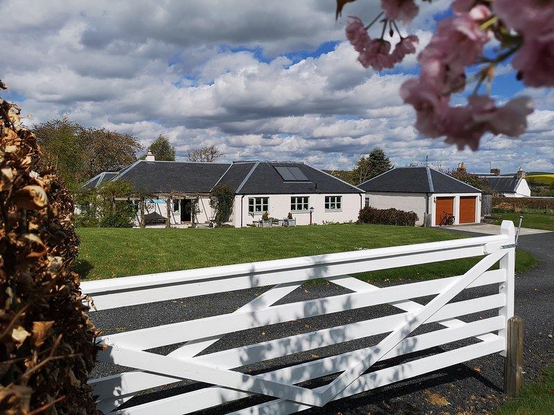Millsyde, Hendersyde Farm, Kelso, Scottish Borders, holiday rental in Kelso