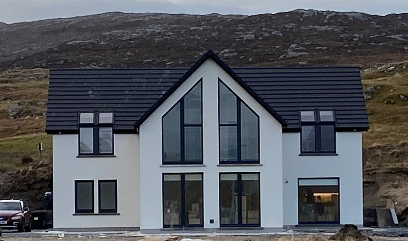Beachside Holiday Home, Seilebost, Isle of Harris, vacation rental in Lewis and Harris