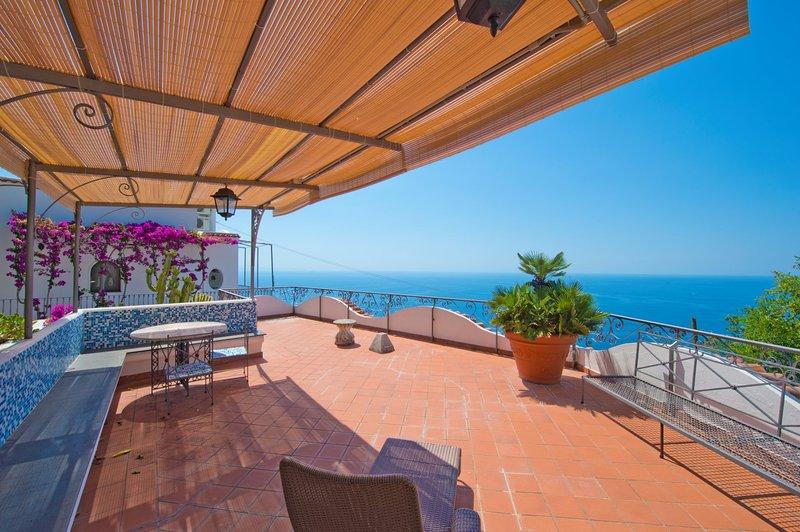 Penthouse Panorama, vacation rental in Conca dei Marini