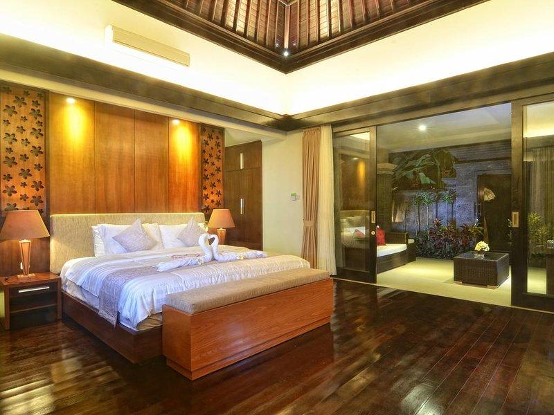 New Horizon Rice Fields Beach Villas in Bali, holiday rental in Samplangan