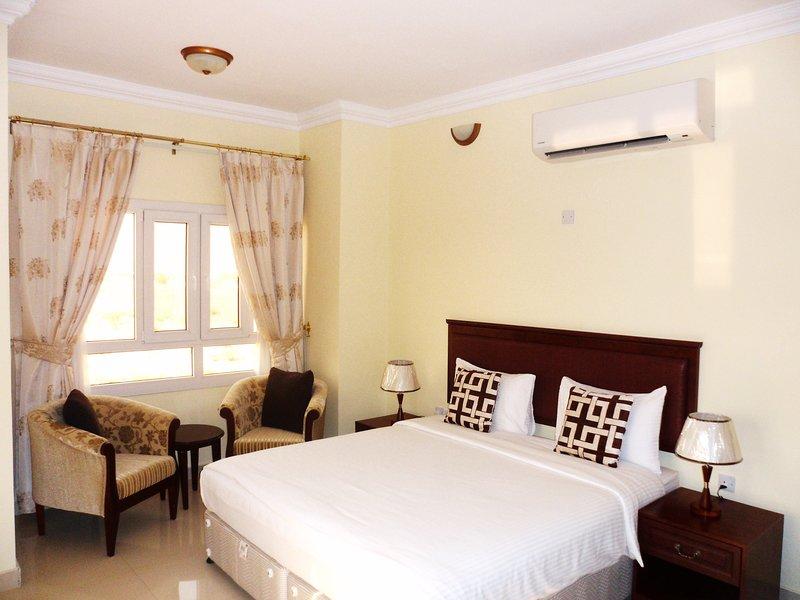 Camera matrimoniale, appartamento con 2 camere da letto