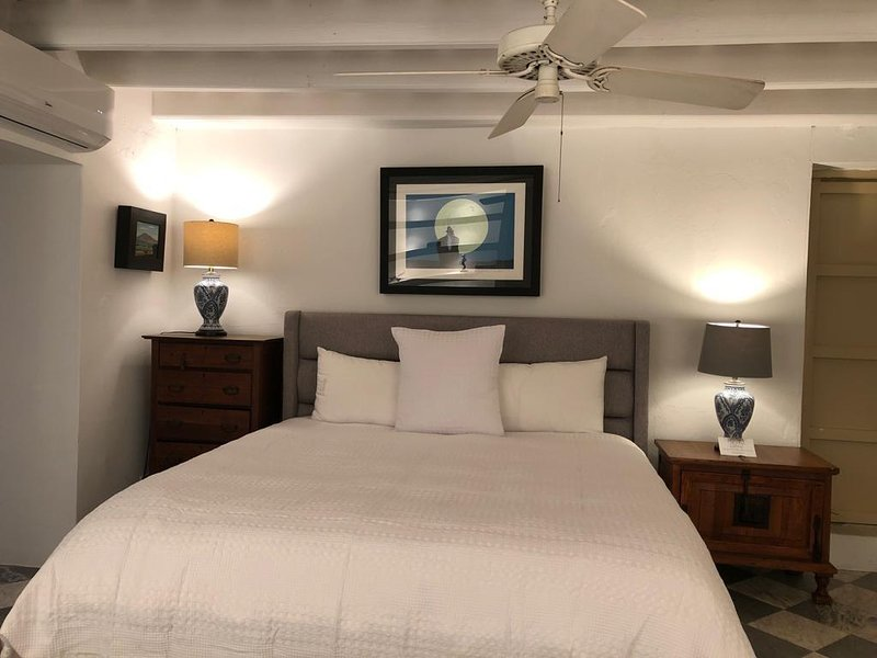 El Palacete Suite 4 for 4 with 1 King and 1 Queen bed  En-suite bathroom POOL, holiday rental in Toa Baja