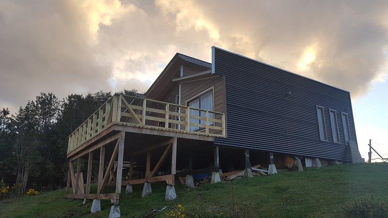 Cabaña Quiquel Dalcahue Chiloe, casa vacanza a Isla Chiloe