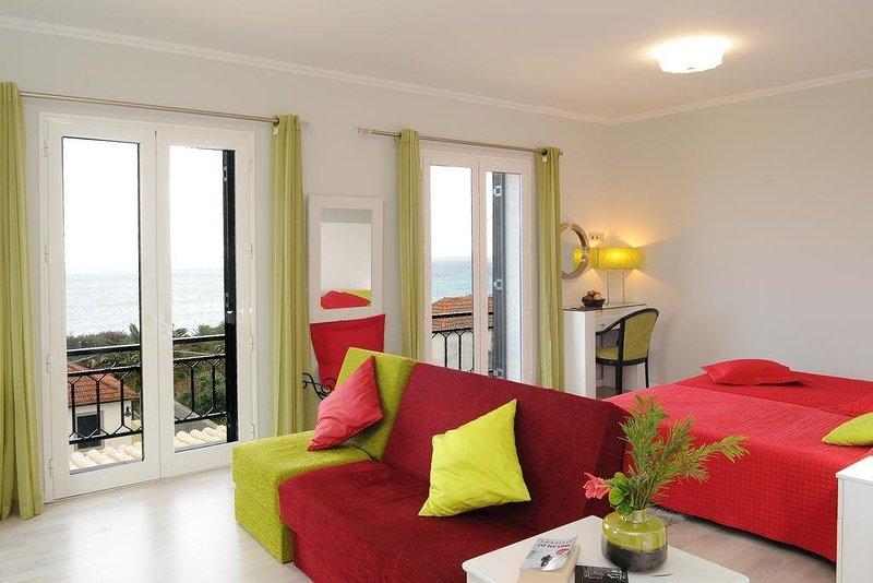 Amazing studio with sea view & Wifi, holiday rental in Cabeco da Ponta