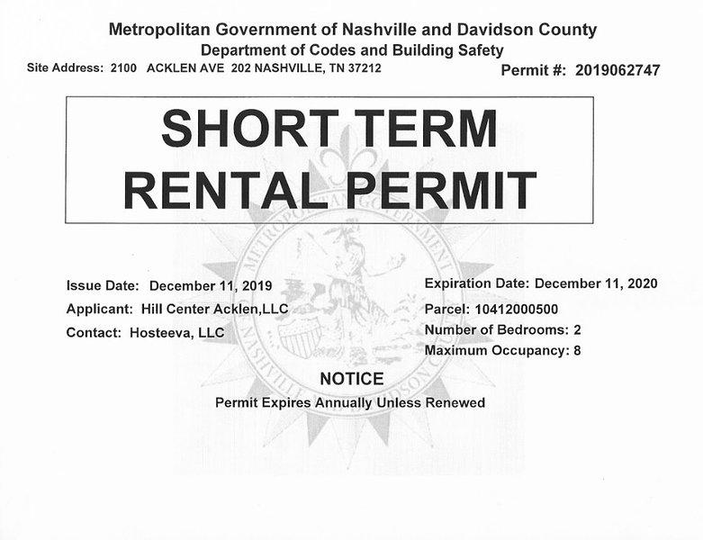 License Permit Number
