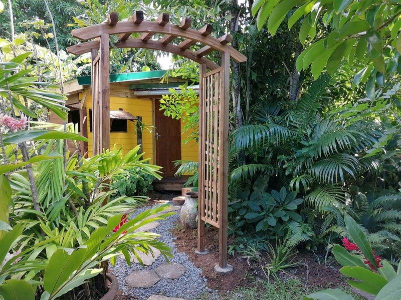 Le Parc aux Orchidées, cottage Thunbergia, alquiler de vacaciones en Pointe-Noire