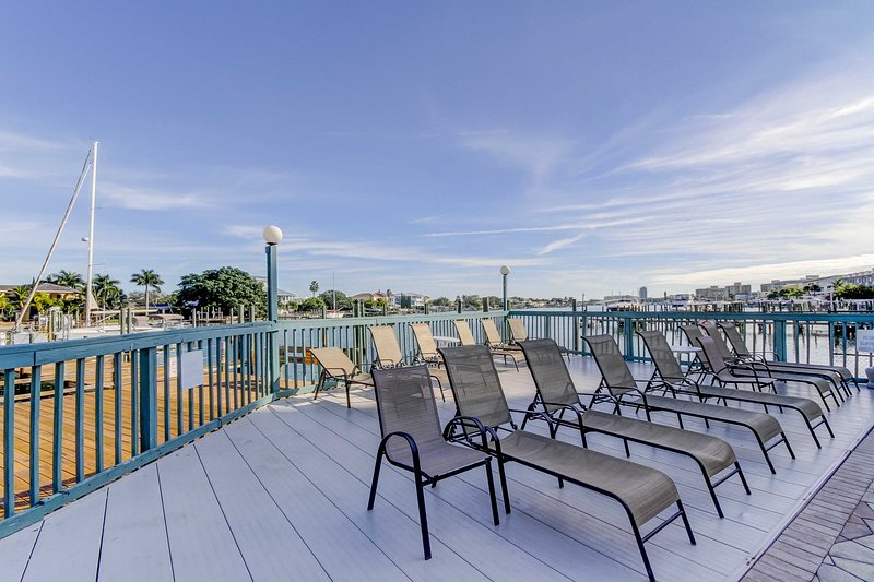 Relax on the sundeck.