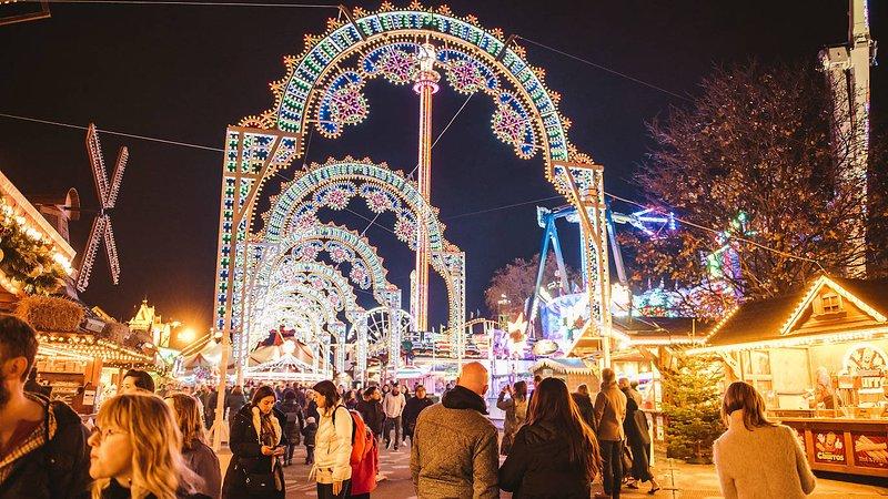 Promenade au pays des merveilles d'hiver de Hyde Park