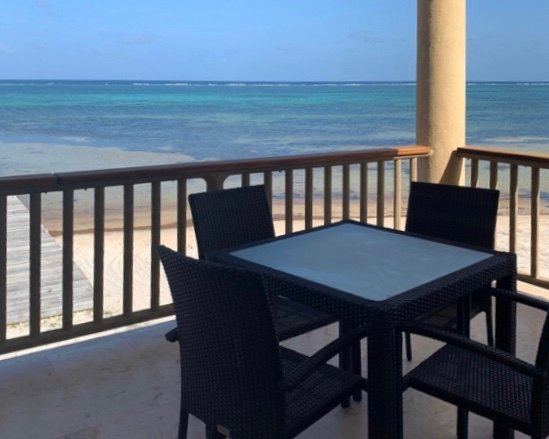 A small taste of the 180 degree Caribbean view from your balcony