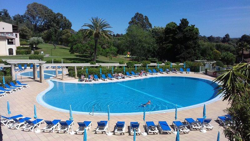 Swimming pool of the Pierre et Vacances Les Parcs de Grimaud residence