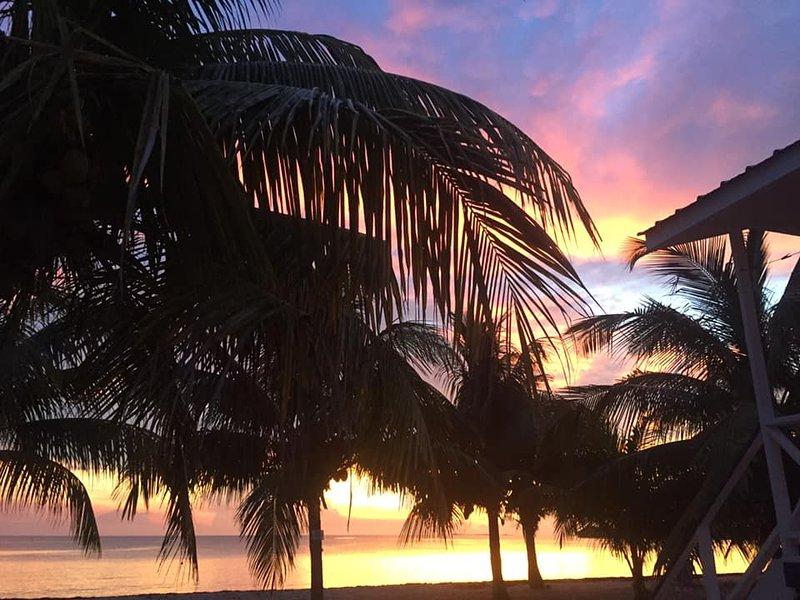 Belo nascer do sol