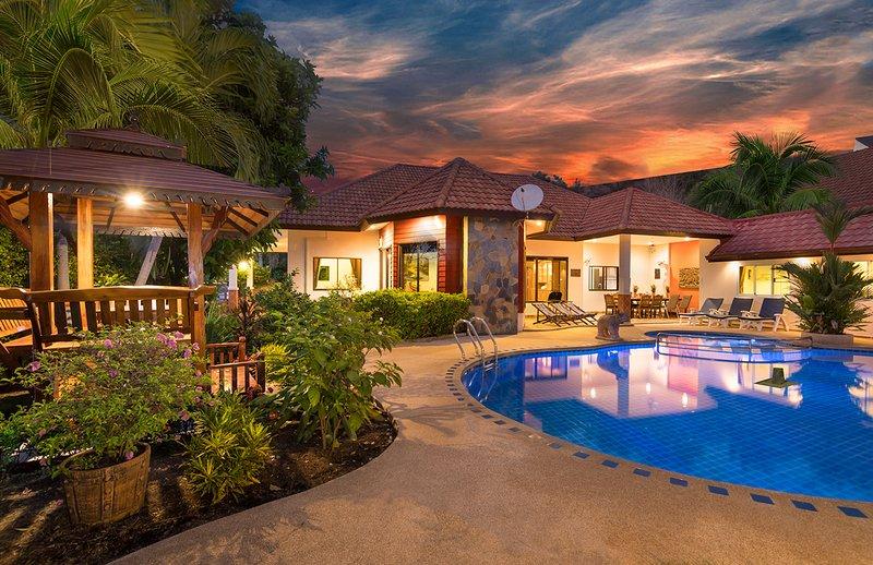 Villa at nght