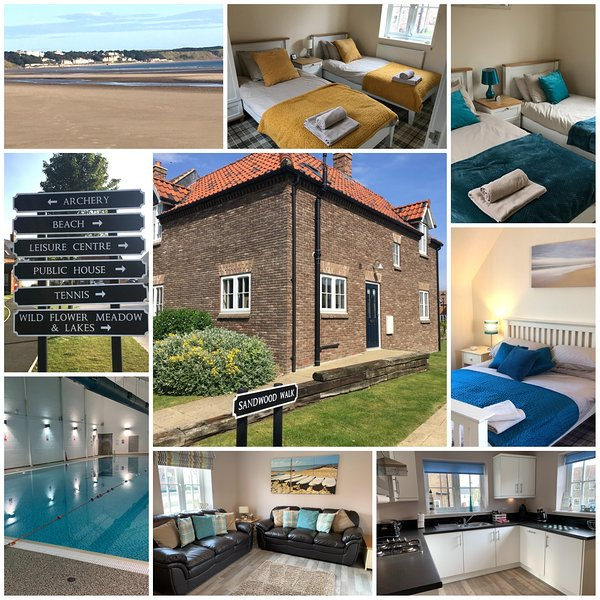 Rock Pool Cottage, The Bay, Filey dogs welcome, pool. beach, bbq, free WiFi, holiday rental in Filey