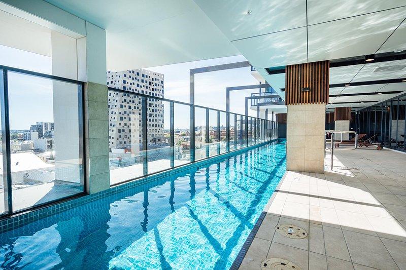 Pool on level 7