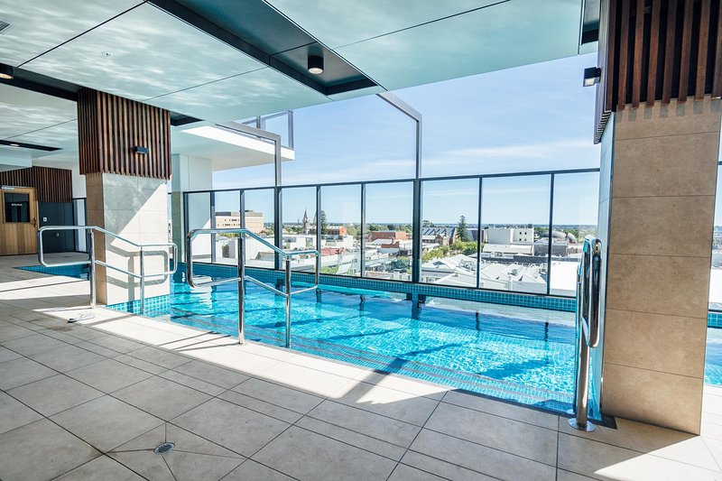 Pool with a view on level 7