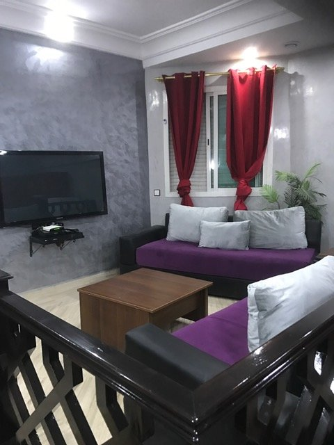 en plein centre ville acces trameway,wi-fi, holiday rental in Casablanca