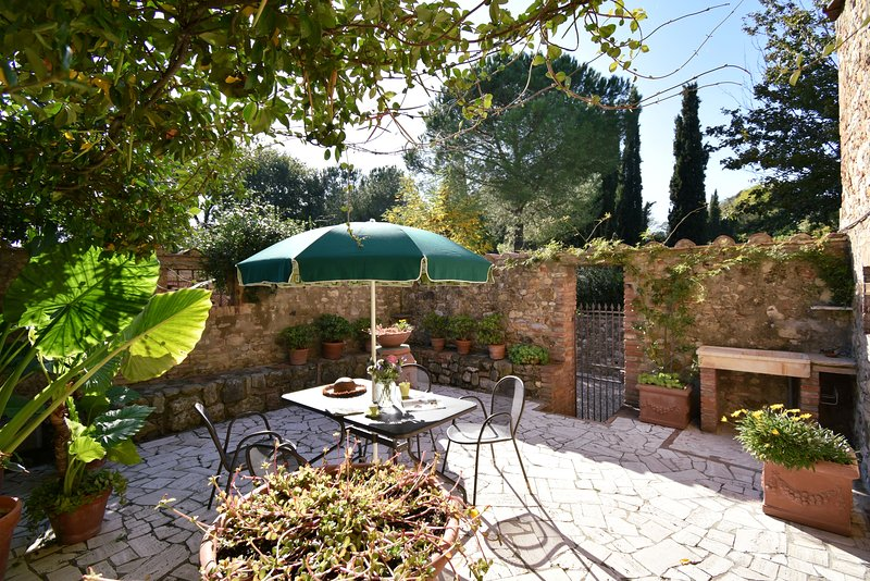 Guest House apartment in Historic Farmhouse with pool, holiday rental in Tognazza