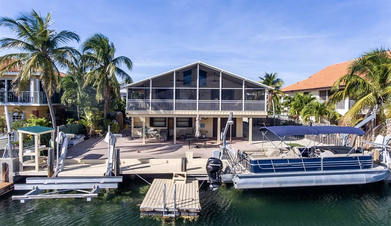 Cypress House 3bed/2bath with 40ft of dockage, holiday rental in Matecumbe Key