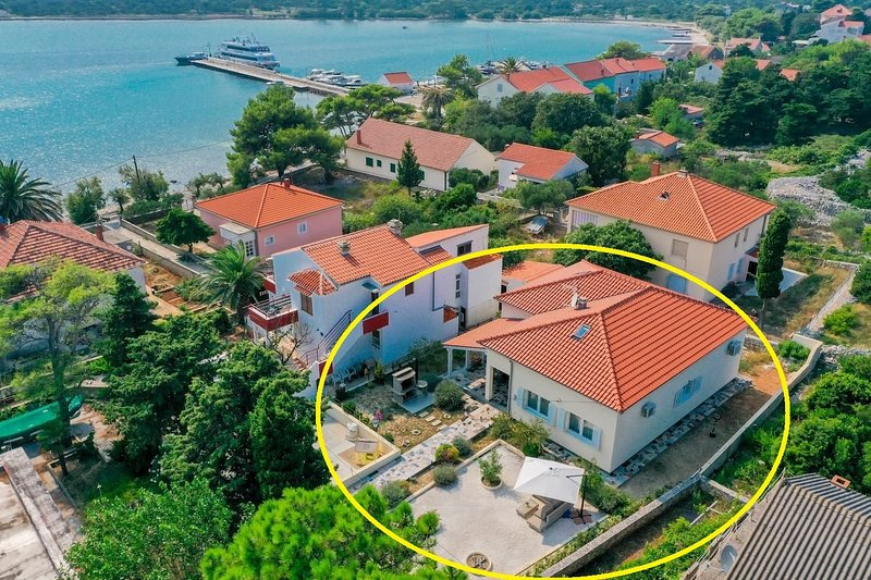 Ante - 30 m from beach: H(6+2) - Ist (Island Ist), holiday rental in Silba