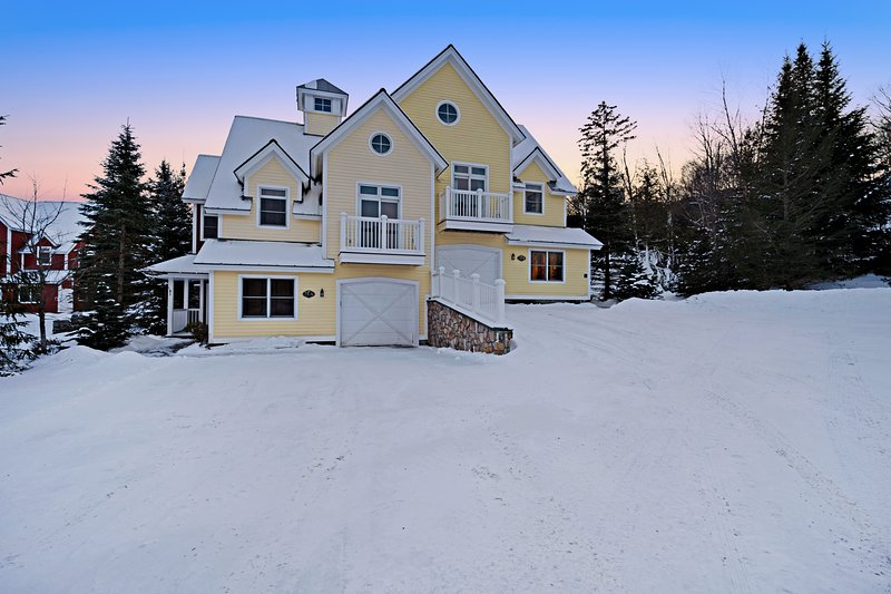 Large, secluded home w/ private hot tub, remodeled kitchen & fireplace, location de vacances à Wardsboro