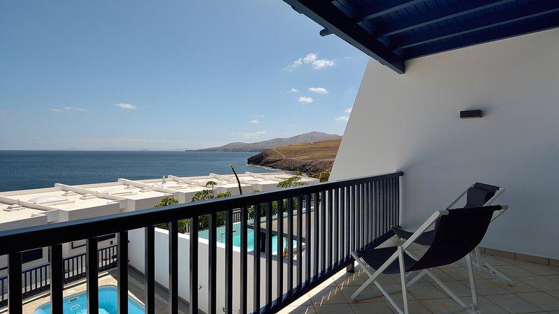 Villa Ficus Private Pool Sea Views Puerto Calero, alquiler de vacaciones en Puerto Calero